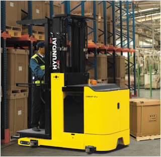 orderpicker, stockpicker, narrow aisle forklift