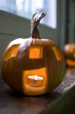 Halloween buča hiška