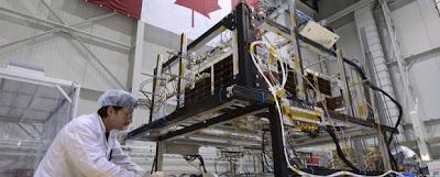 NEOSSat espacio satélite