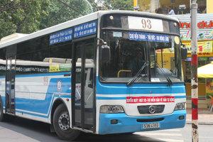 Sài Gòn bus - April 2013