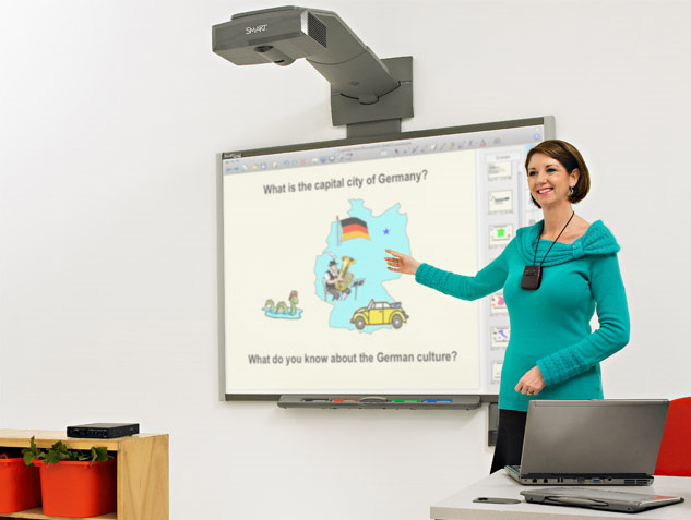 Information Smart Board 885ix2 Interactive Whiteboard System
