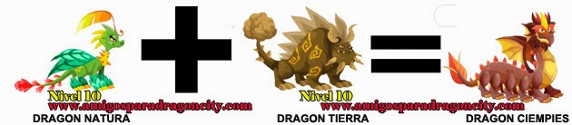 como hacer el dragon ciempies en dragon city formula 2