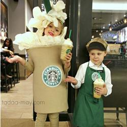 http://das-schneiderlein.blogspot.com/2014/10/diy-kids-kostum-barista-and-frappuccino.html