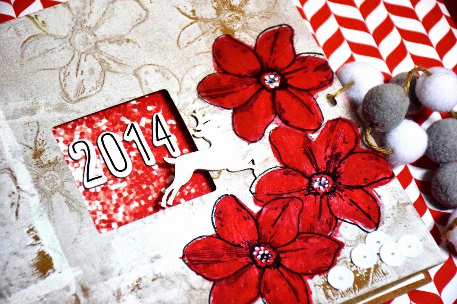 Diario de Navidad 2014 - Portada y estructura