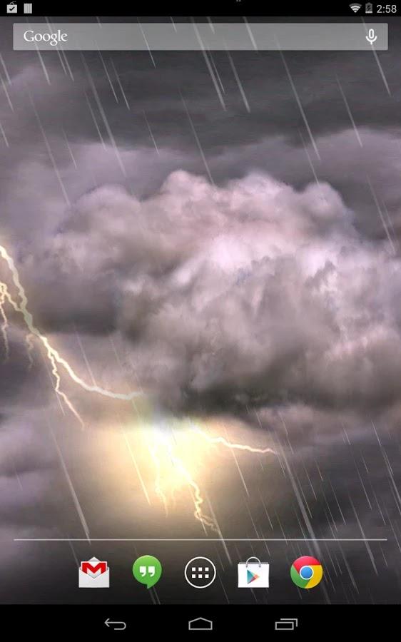Thunderstorm Live Wallpaper v2.25