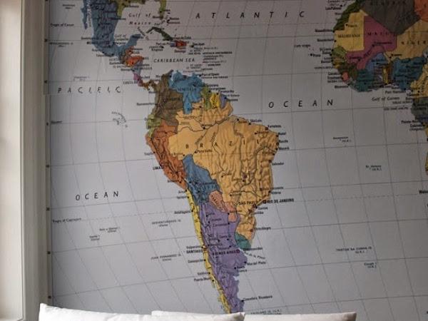 Se inspire: Mapas na decoração