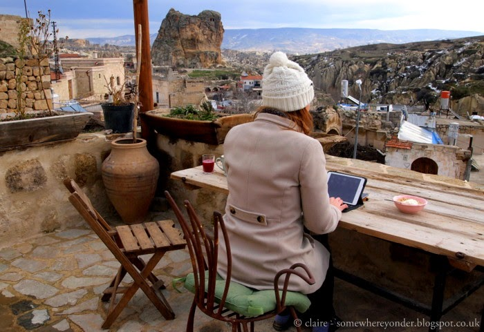 Blogging in Cappadocia, Turkey