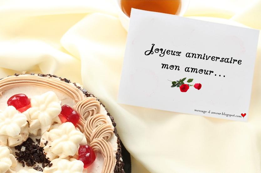 Souvent Textes d'anniversaire romantiques - Message d'amour BE89