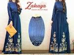 Baju Muslim Gamis Zahaya GC2079 HABIS