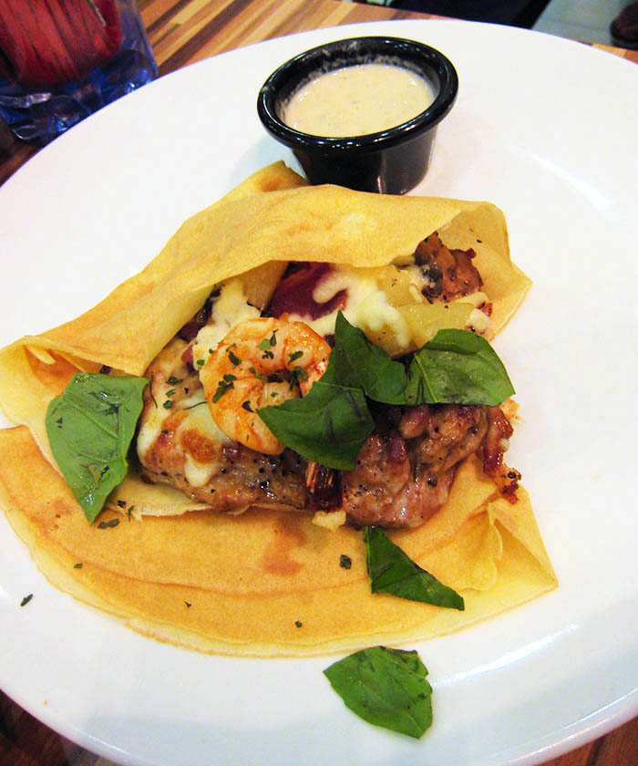nice crepe chicken picture