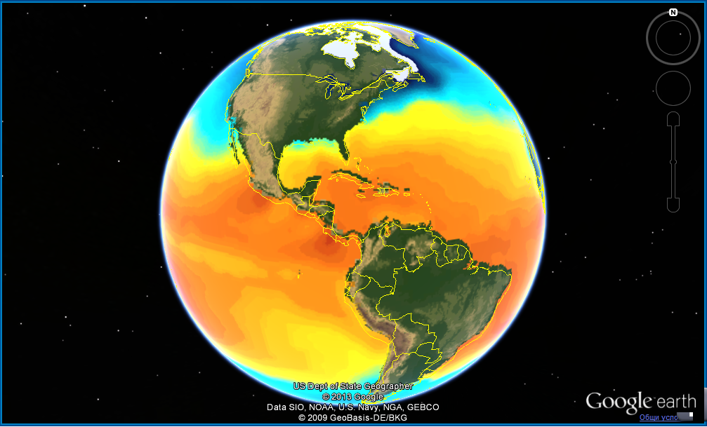 North and South America Temperatures Jan 2014