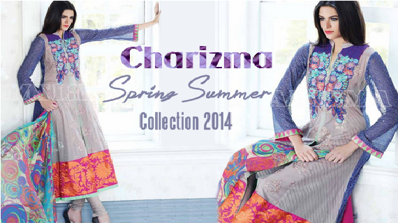 Charizma Spring Summer Lawn Collection 2014
