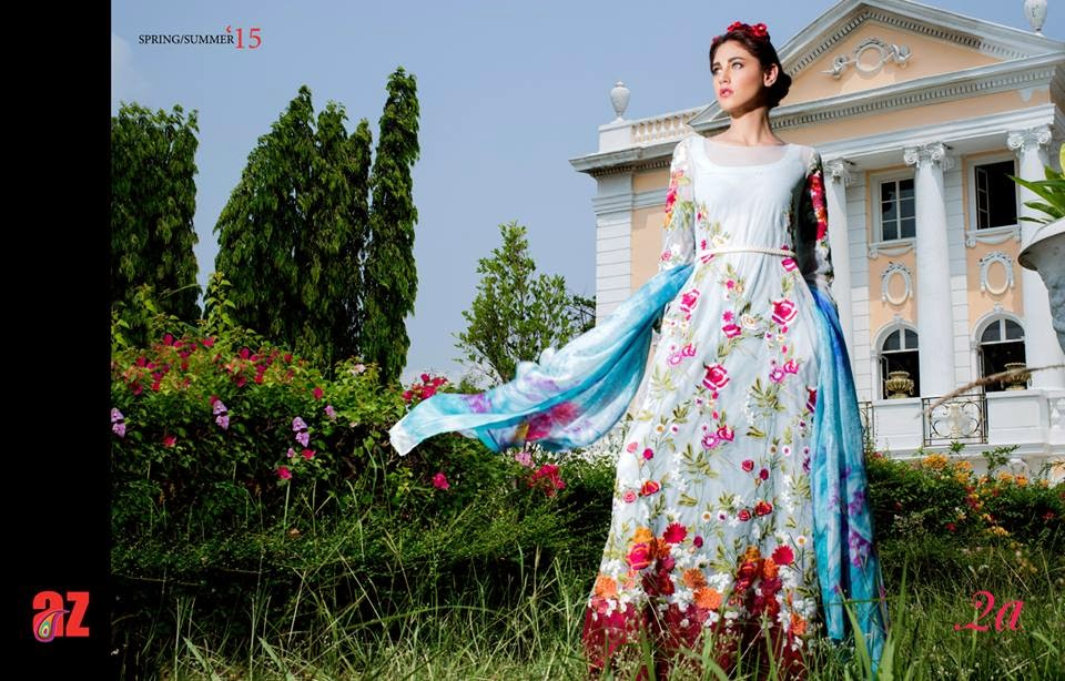 New luxury lawn collection 2015