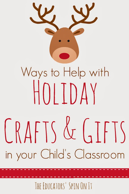 Ways to Support Holiday Crafts and Gifts in your Child's Classroom