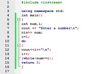 do while loop in c with example about codes