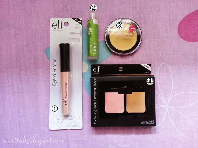 ELF and MUA Haul