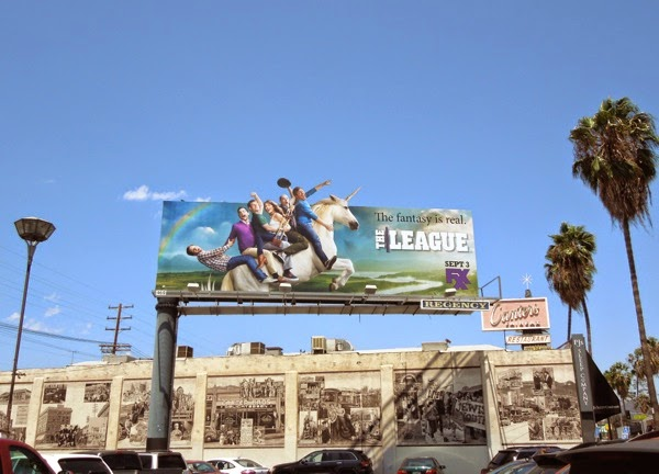 The League season 6 unicorn billboard