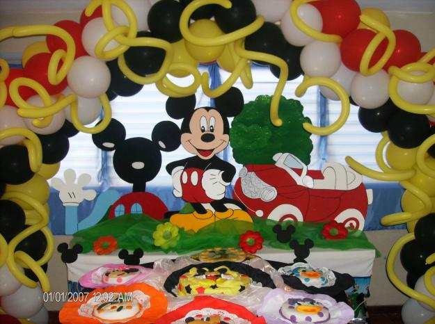 Decoración de Mickey Mouse bebé - Imagui