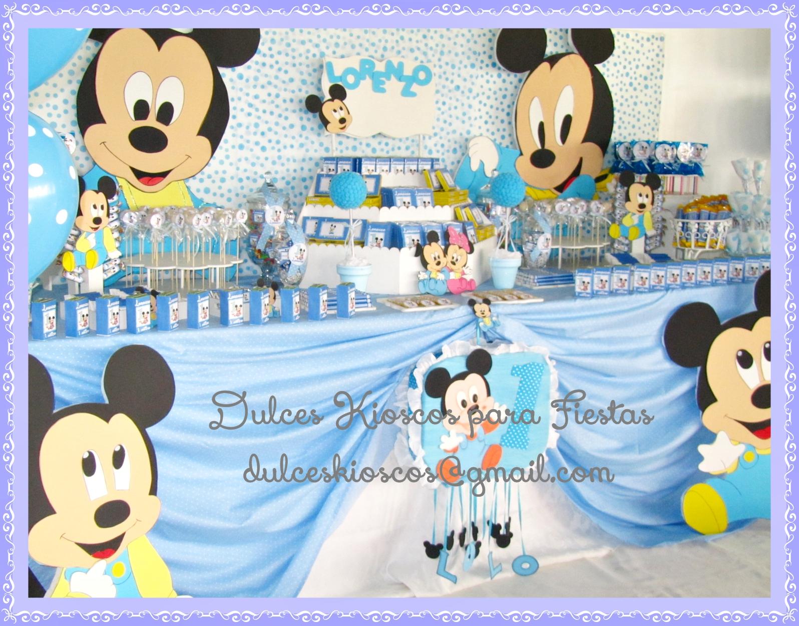 Decoraciones de baby mickey mouse car interior design - Decoraciones para bebes ...