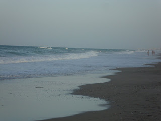 El Saler Beach photo in the evening - Sand and sea