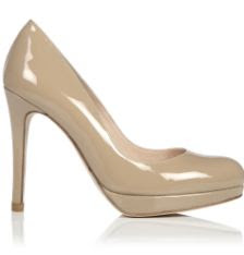 Nude Shoe Duchess of Cambridge