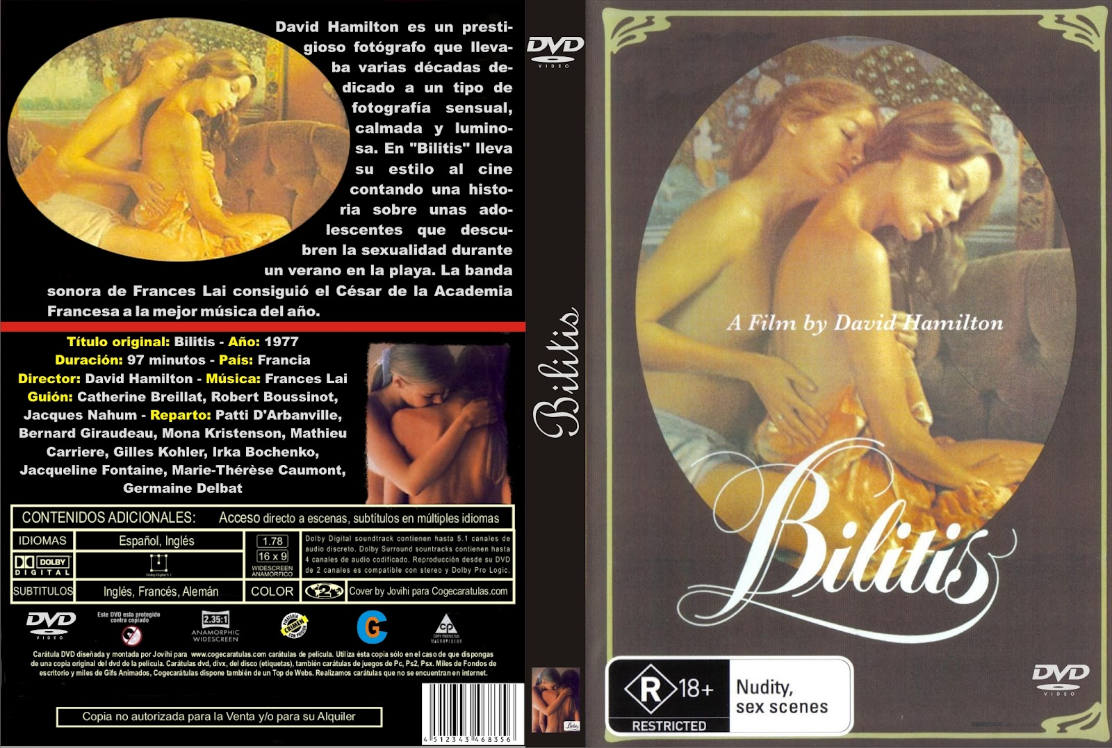 Bilitis [1976] [DvdRip] [Español] [Avi] [+18] [RG-SF]