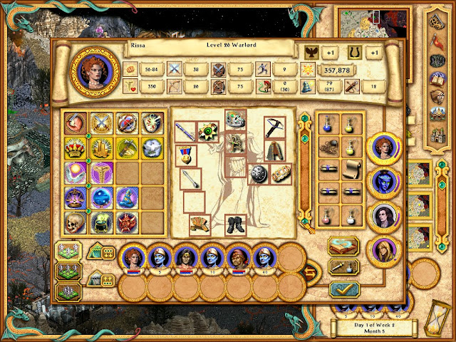 Heroes of Might and Magic 4 - Genies and Heroes Army Description