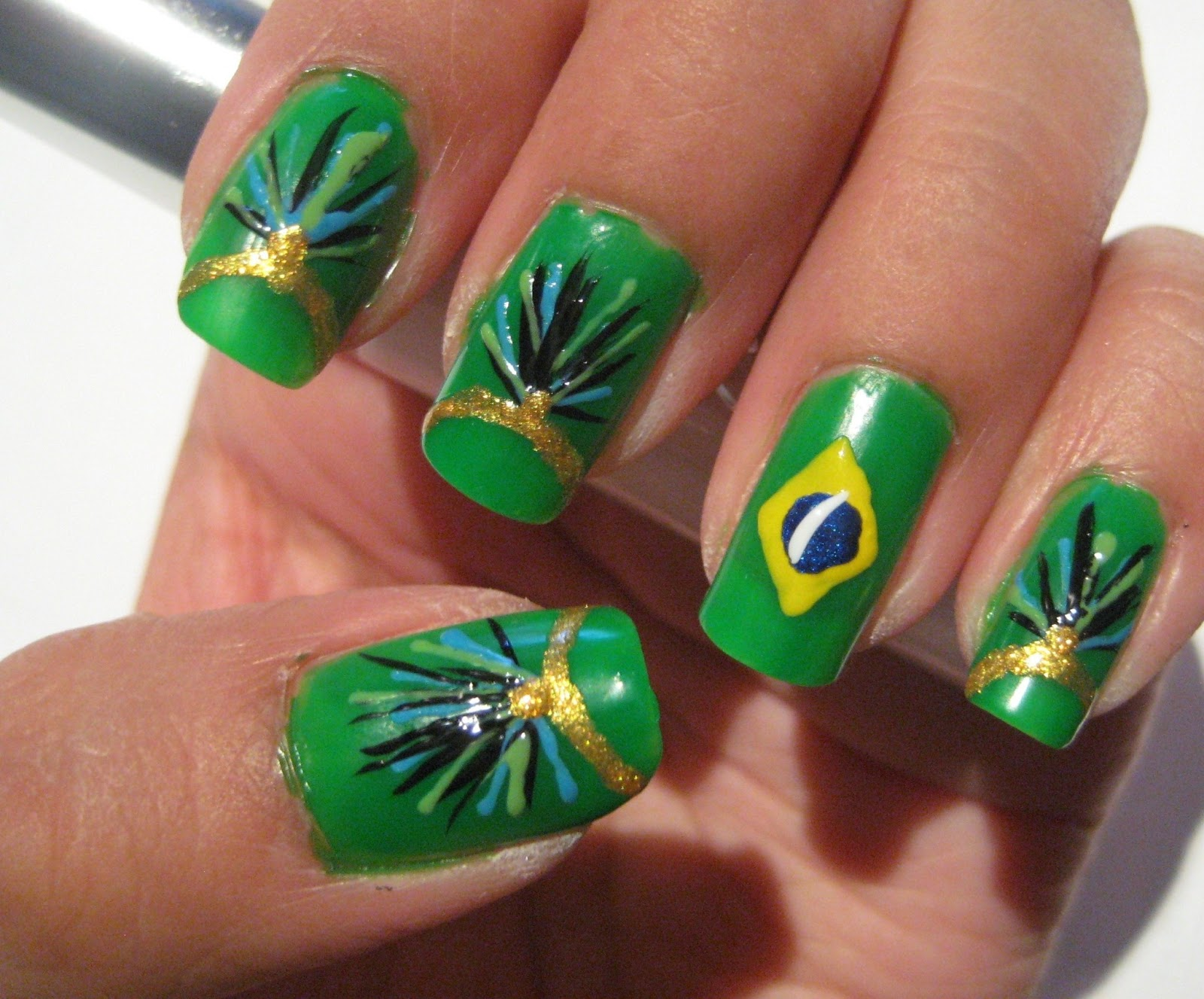 Atractivo Diseños De Uñas Carnaval Modelo - Ideas Para Pintar Uñas ...