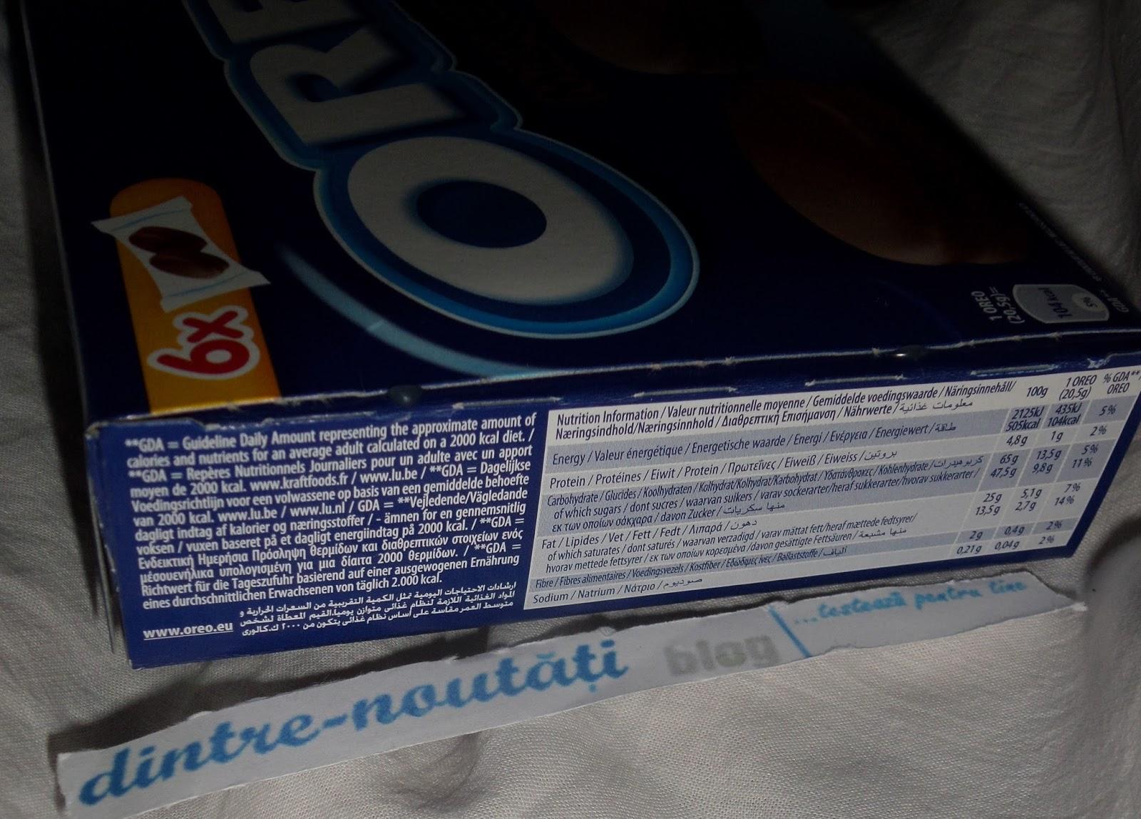 Biscuiți OREO cu glazură de ciocolată cu lapte