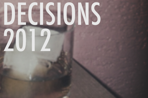 2012 Election Day Decisions