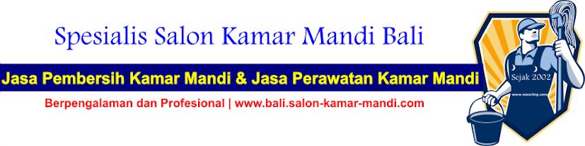 Salon Kamar Mandi Bali | Jasa Pembersih Kamar Mandi