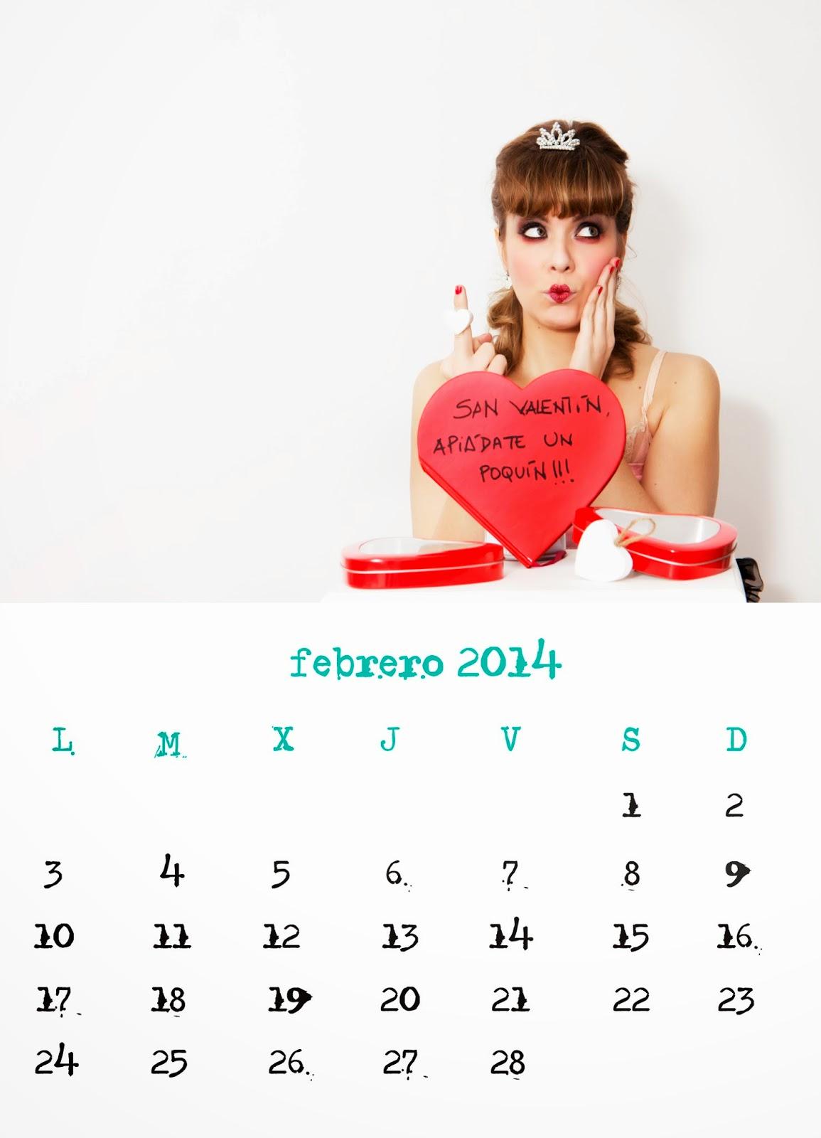 Pia Tedesco Calendario 2014 Calendar