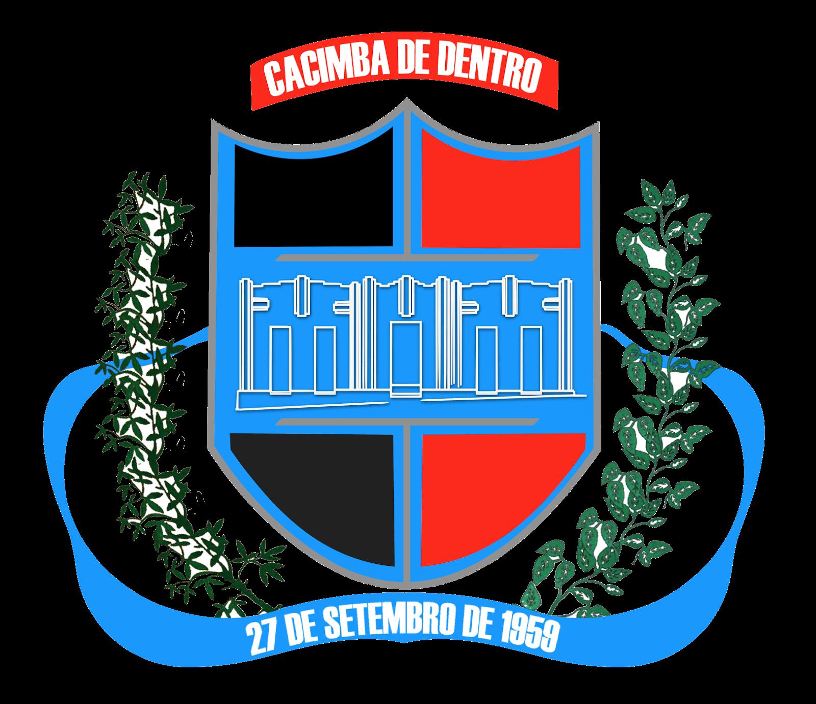 BRASÃO DE CACIMBA DE DENTRO - OFICIAL