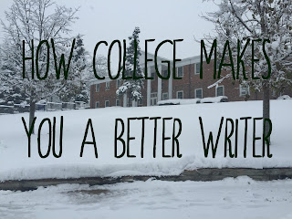 || How College Makes You a Better Writer || Water & Pen ||