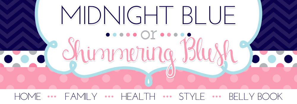 Midnight Blue or Shimmering Blush