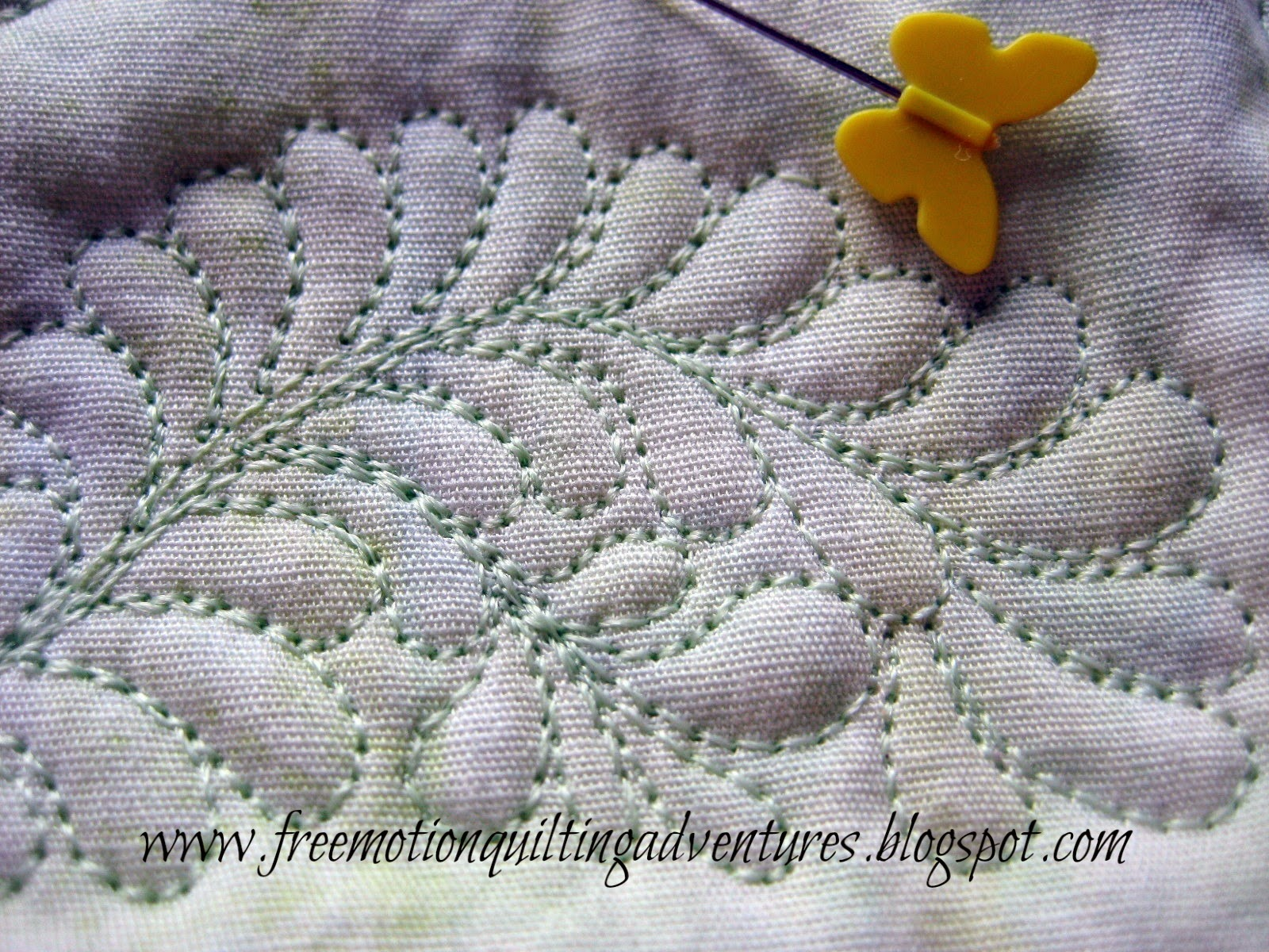 Amy s Free Motion Quilting Adventures: Free Motion Monday Quilting Adventure: Feathers