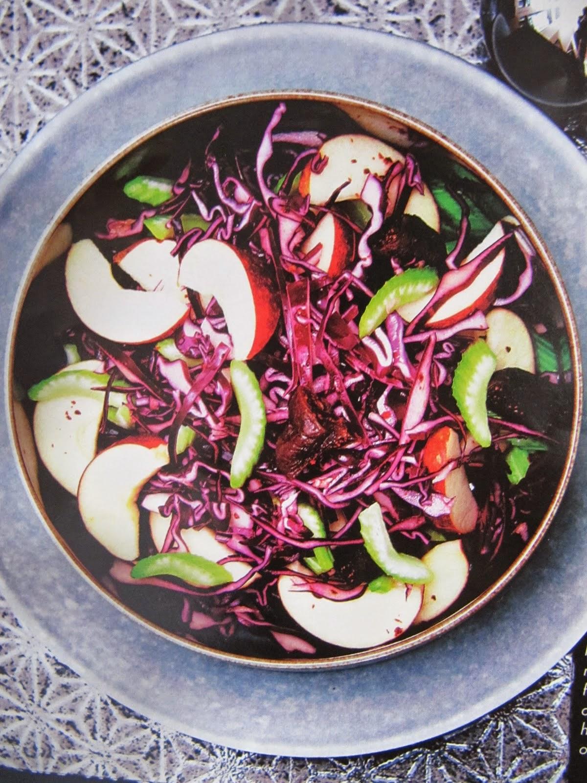 Седьмой зимний салат - Датский рождественский салат из сельдерея