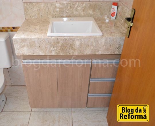 Móveis da Casinha ~ Reforma Aí -> Como Reformar Armario De Banheiro De Mdf