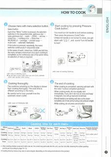 lihom rice cooker english manual