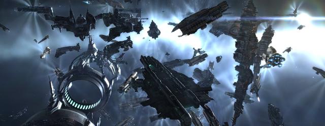 EVE-online: EVE: Космическое кунг-фу в сло-мо
