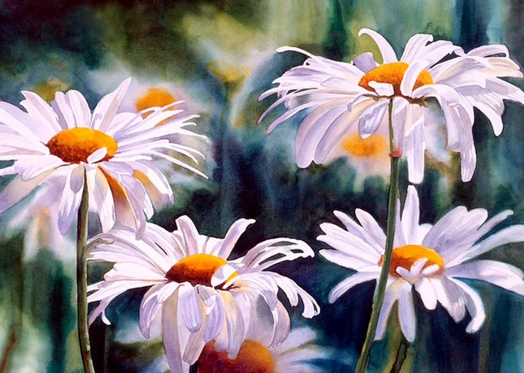 flores-blancas-pintadas-con-acuarelas