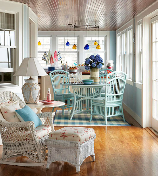 Modern furniture decorating porches ideas for summer 2013 Cottage porch decorating ideas