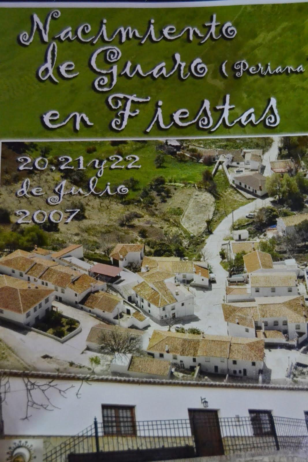 FERIA DE GUARO 2007