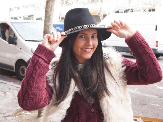 Zara's hat