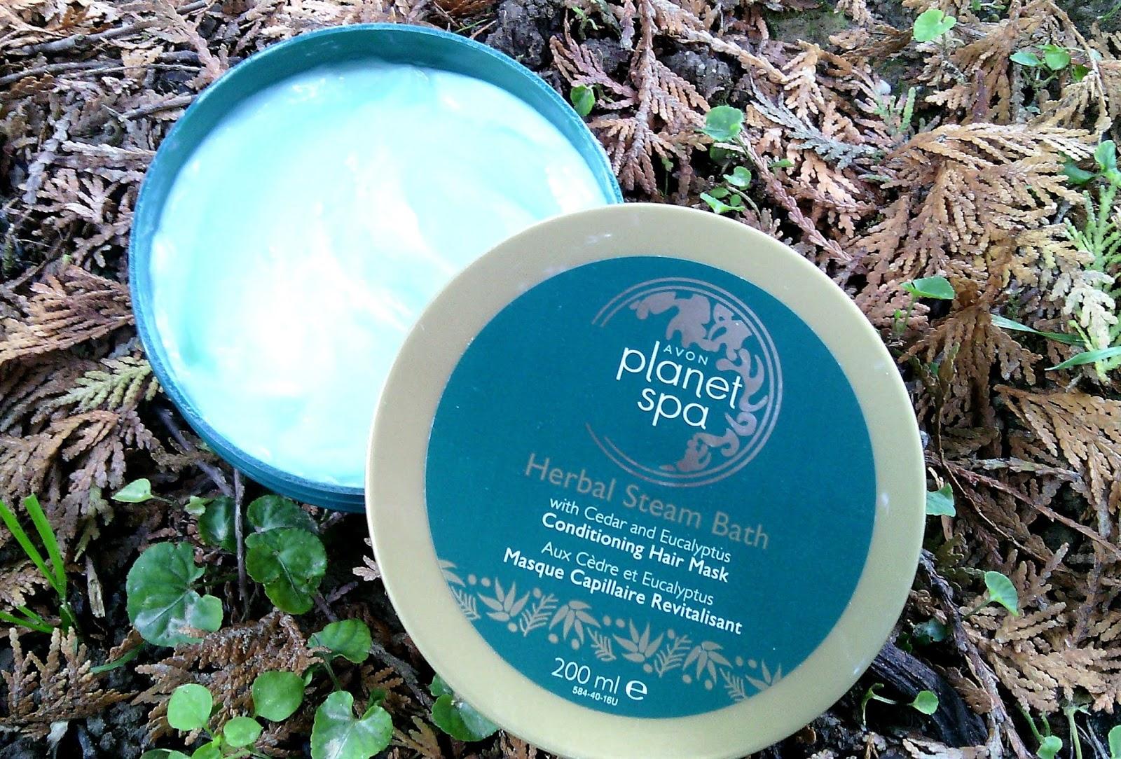 Buba avon noviteti avon planet spa herbal steam bath for Plante salon