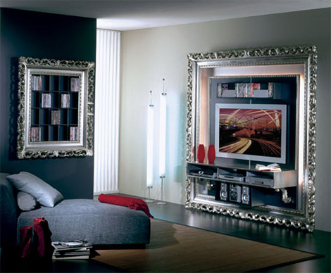 Latest Luxury Tv Lounge Decorating Ideas In Pakistan - Silver & Golden ...