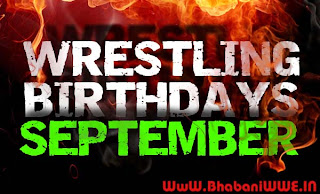 Wrestling Birthdays » September