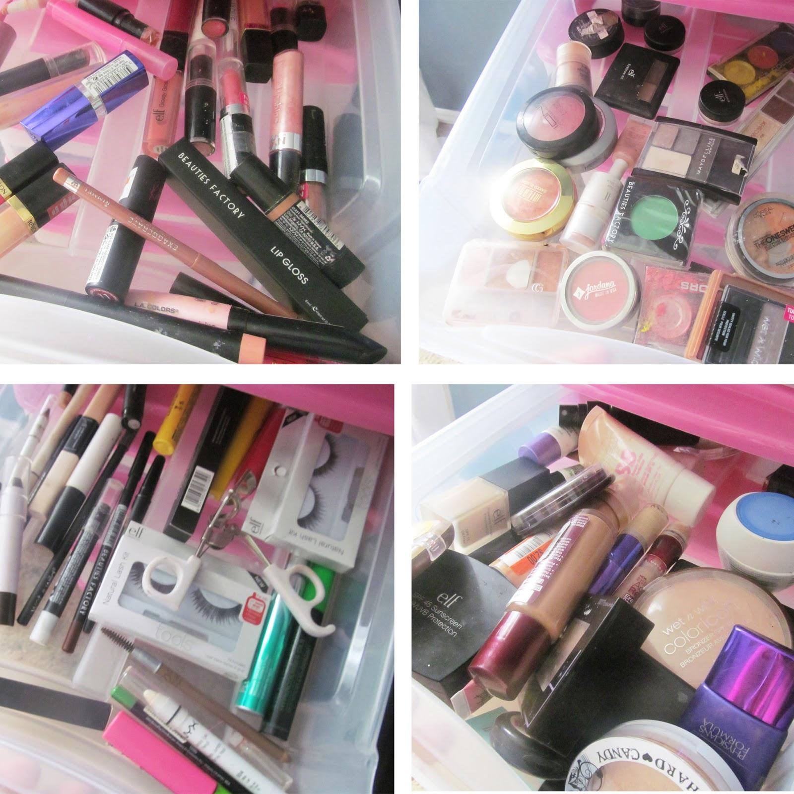 Diy makeup storage pinterest