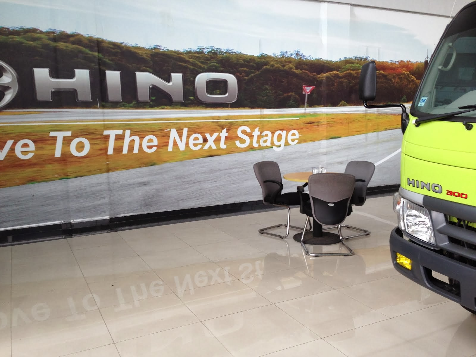 "Hino ""Move to the next stage"""