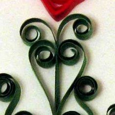 free quilled christmas tree tutorial pattern quilling